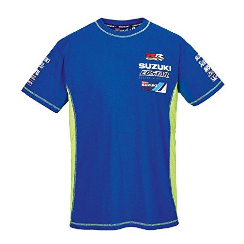 Size Large Genuine Suzuki Brand New Suzuki GSX-RR MotoGP T-Shirt in Blue