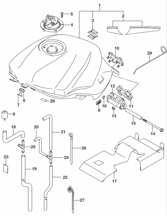 Sv 650 Wiring Diagram