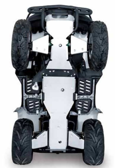 Compatible with Suzuki King Quad 500//700 Alloy Rear A Arm Guards 2019+