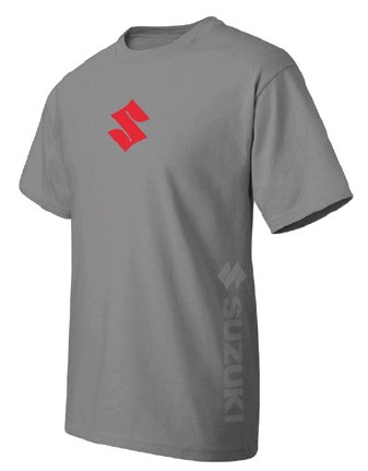 SUZUKI S LINE T SHIRT SHORT SLEEVE