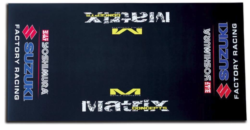 SUZUKI Matrix R2 Floor Mat - Yoshimura Suzuki Factory Racing