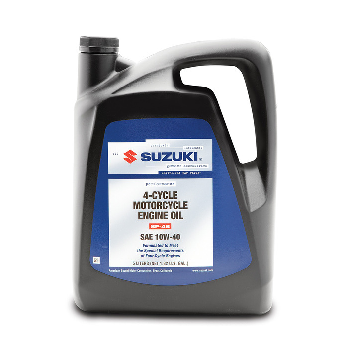 SUZUKI OIL 10W40 5 LITER PERFORMANCE 4