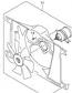 RADIATOR FAN ASSY LTA500 VINSON 2002-07