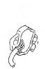 GEAR SHIFT TERMINAL SV650 2003