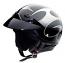 Suzuki Boulevard Flame Half Helmet Gloss Finish
