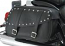Rigid Mount Leather Saddlebags - Studded C50