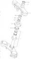 STEERING STEM GSXR 1000 2003-04