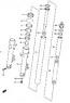 FORK TUBES  SV650/S 2001-02 PARTS