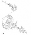 REAR WHEEL PARTS SV650/S 2003-09