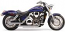 "COBRA 2 ""DRAG PIPES Honda VTX1800C"