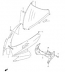 COWLING BODY INSTALLATION HARDWARE GSXR 600/750 2006-07