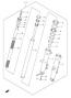 FRONT FORK PARTS DL650 2004-11