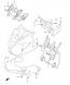 COWLING BRACE DL650 2004-11