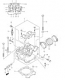 CYLINDER HEAD RMZ450 2005-06