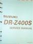 SERVICE MANUAL DRZ400 S/SM 2001-21 DR650SE 1996-13