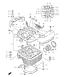 CYLINDER HEAD LS650 S40 2005-15