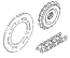 SPROCKETS CHAIN GSF1200 / S 2001-05