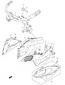 AIR INTAKE COWLING BRACE GSX1300 HAYABUSA 2008-19