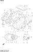 CRANKCASE COVER GS500F 2004-09