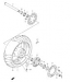 WHEEL REAR ( RIM) REPLACMENT PARTS SV1000S 2003-05