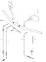 HANDLEBAR MIRROR M90 BOULEVARD 2013-19
