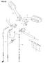 HANDLEBAR MIRROR CABLE GSXR600 GSXR750 2011-21