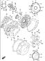 CRANKCASE GSX-S750 2015-19