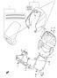 HEADLAMP COVER MOUNTING HARDWARE  M109R BOULEVARD 2011-19