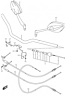 HANDLEBAR MIRROR GSX-S1000/F 2016-18