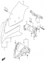 COWLING BODY GSX-S 1000F 2016-18