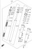 FRONT DAMPER (FORK) DL650 2012-16