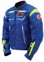 Suzuki GSX-R Mesh Jacket Blue