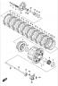 CLUTCH GSX-S750 2015-19