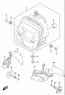 HEADLAMP MOUNTING PARTS GSX-S1000SA KATANA 2020
