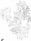 REAR FENDER LOWER MOUNTING HARDWARE GSX-S1000SA KATANA 2020