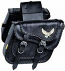 Willie & Max Black Magic Saddlebag