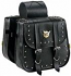 Willie & Max Standard Studded Saddlebags