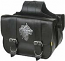 Willie & Max Wolfs Head Saddlebag
