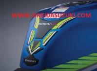GSX-R 1000 TANK PAD 2017-21 GSX-R600/750 2011-21