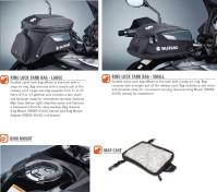 RING LOCK TANK BAGS 2012-18 GSX-S750 GSX-S1000 DL650/1000 2012-18