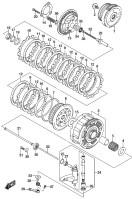 CLUTCH VZ1500 M90 2016-18