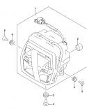 HEADLAMP MOUNTING HARDWARE DL1050 2020