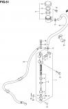 REAR MASTER CYLINDER LTA500F VINSON 2002-03