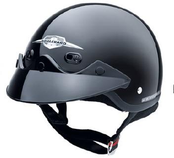 SUZUKI BOULEVARD Classic Cruiser Half Helmet