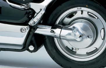Chrome Swingarm Cover VL1500 C90 1998-2009
