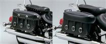 Rigid Mount Synthetic Leather VL800 VOLUSIA Saddlebags -CLOSEOUT-