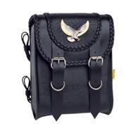 Willie & Max Black Magic Sissy Bar Bag