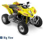 Tribal Graphic Kit OR Matching seat cover LTZ400 QUAD SPORT ATV