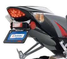 LICENSE PLATE BRACKET GSXR 600/750/1000