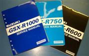 GSX-R & HAYABUSA B KING  SERVICE MANUALS
